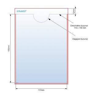 Buzunar adeziv 110 x 150 mm