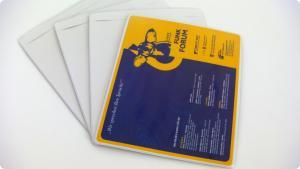 Mouse pad blank, personalizabil acasa prin insertie print pe hirtie